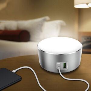 2 Tactile Led Sur Home Chargeur Table Lampe De Détails Desk Chevet Bedside Reading Usb kXiTPulOwZ