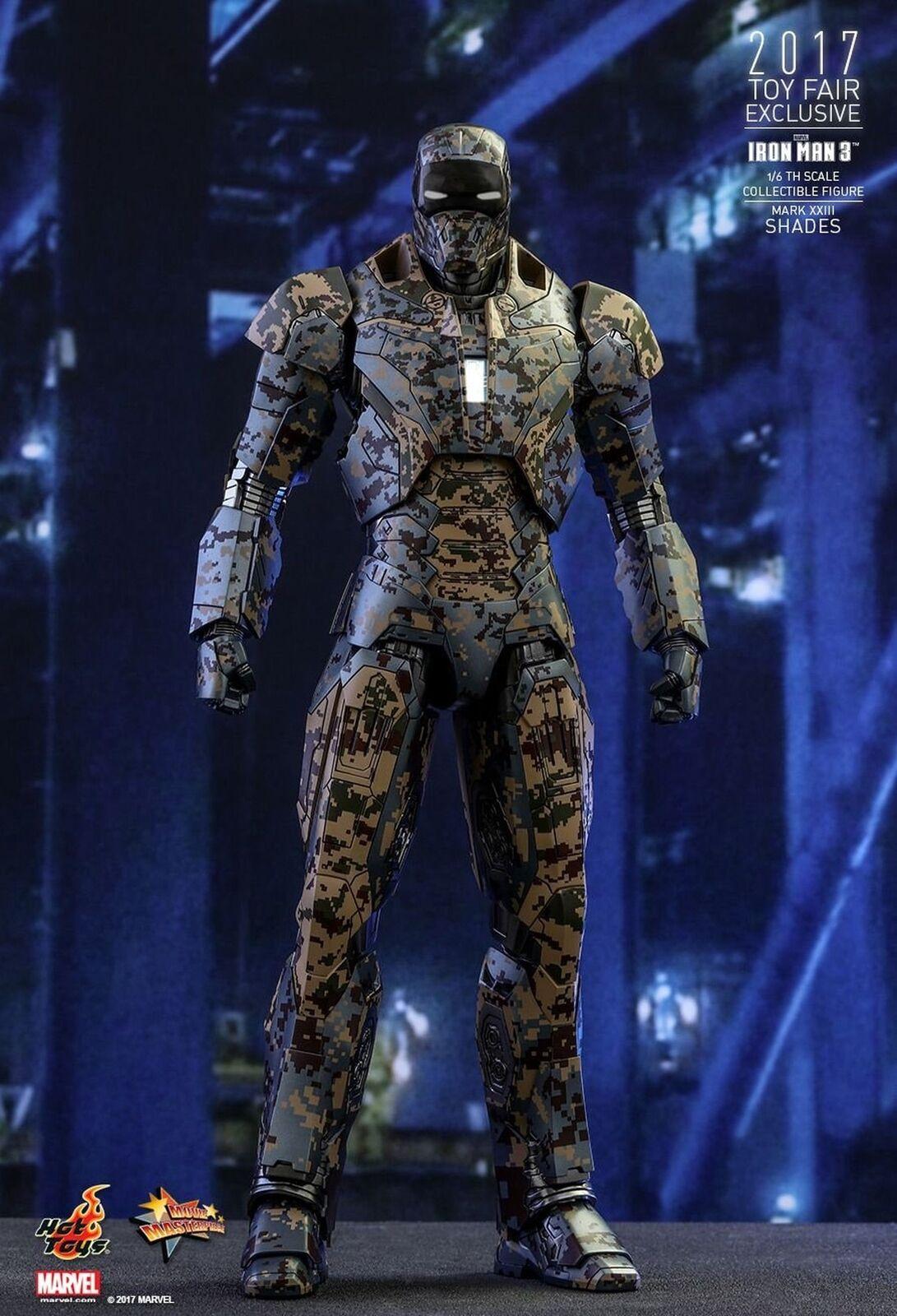 Hot Toys HT903062 Iron Man Mark XXIII  Shades  Figure, 1 6 Scale