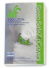 Sleep Safe ZipCover Evolon Pillow Cover, Bed Bug, Dust Mite, Allergen Zippered /