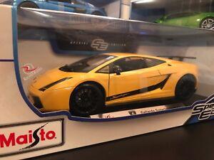 Maisto 1 18 Scale Diecast Model Lamborghini Gallardo Superleggera
