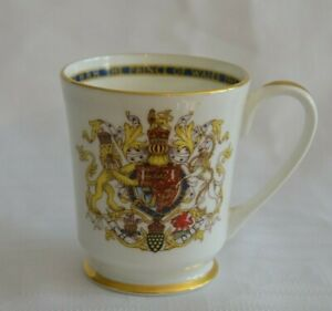 Vintage-1969-INVESTITURE-of-PRINCE-Of-WALES-Charles-China-Cup-Mug-by-Aynsley