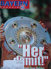 Programm 1996/97 FC Bayern München - VfB Stuttgart