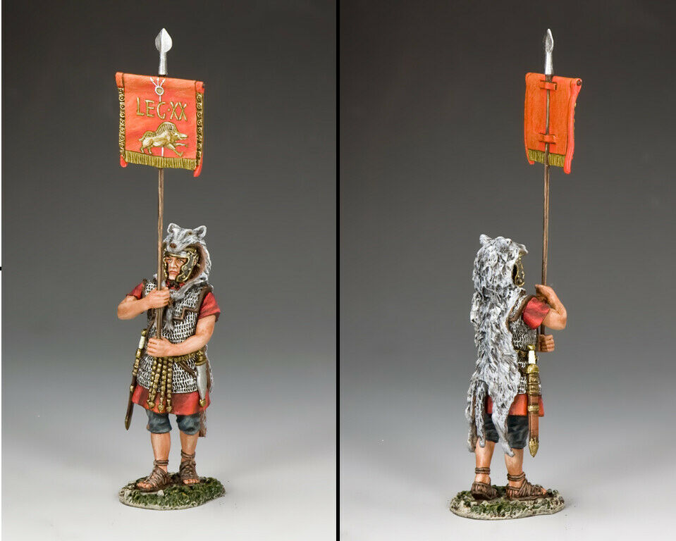 King & Land Roman Empire ROM008 Roman Vexillum Diener MIB  | Realistisch