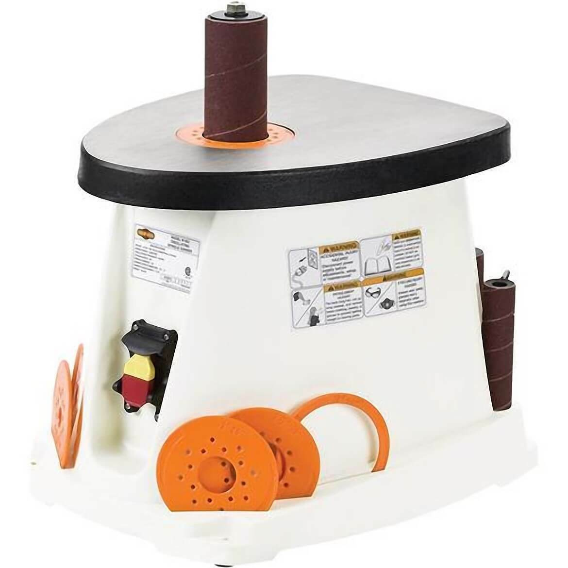 Shop Fox W1831 Oscillating Spindle Sander w/ 5 Rubber Sanding Drums & 6 Sleeves. Buy it now for 169.99