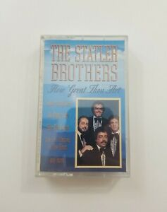 The Statler Brothers How Great Thou Art Cassette 1993 Sony Music