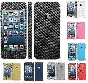 Carbon-Fibre-Full-Body-Decal-Skin-Cover-Sticker-Apple-iPhone-4-4S-5C-5-5S-6-PLUS
