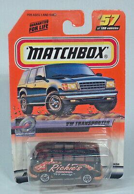 Matchbox VW Transporter  #57 Richie/'s Pizzeria