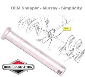 Details about Snowblower Shear Pin, 1/4
