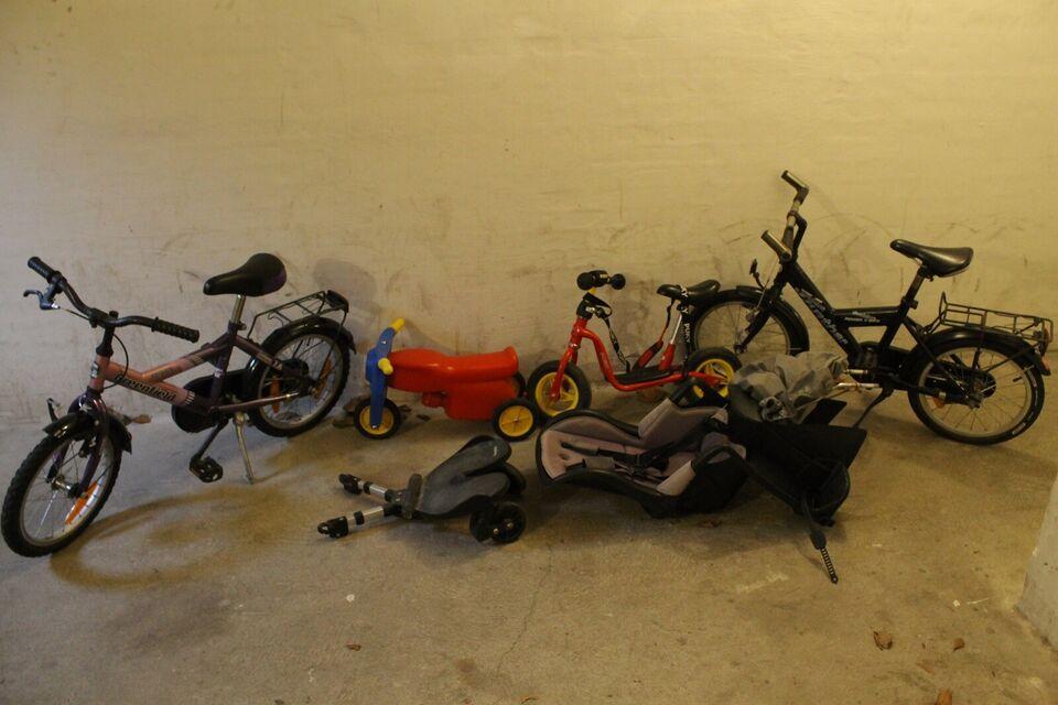 cykelsæde til barn, Römer, Pigecykel, mini racer