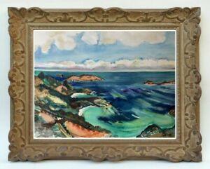 Decouverte-d-039-une-grande-painter-painting-view-of-saint-barthelemy-110