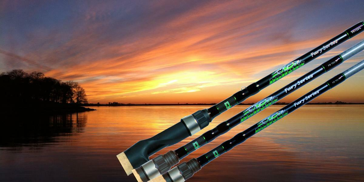 Dobyns Fury FR 702SF Spinning Rod - Authorized Dealer