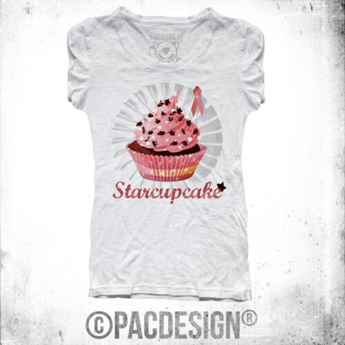 T-SHIRT DONNA CUPCAKES CAKE CUTE CHIC SWEET WHY SO VINTAGE FE0003A