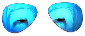 Ray Lenti Specchio Polarized 58 3292 Blue Lenses Ban Mirror Ricambio 4l Aviator wPkXiuOZT