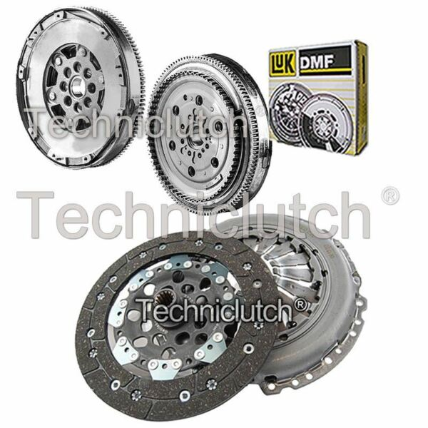 2 Part Clutch Kit And Luk Dmf With Csc For Vauxhall Meriva Mpv 1.3 Cdti Geurige (In) Smaak