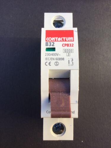 Contactum CPB32 B32 32A MCB