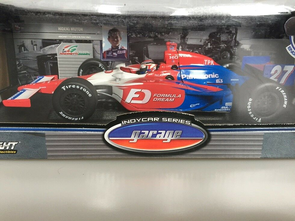 buen precio 1 18 18 18 verdeLight IndyCoche Hideki Mutoh Honda  venta al por mayor barato