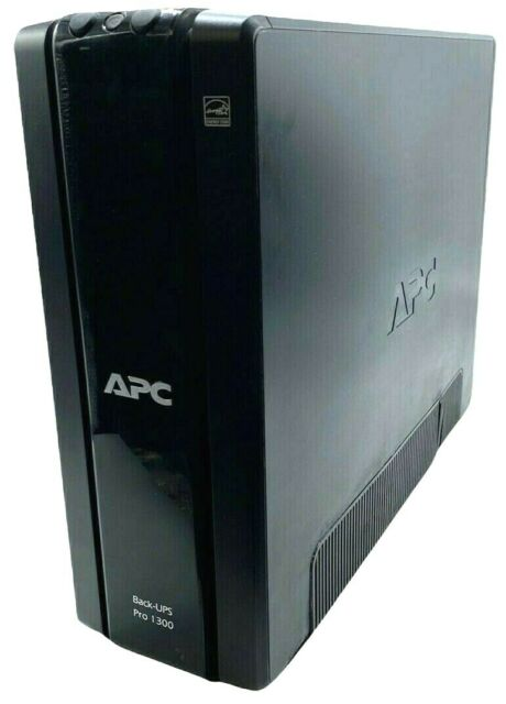 APC BACK-UPS PRO 1300 Battery Backup, BR1300G, 24v, 10-Outlet, NO BATTERY