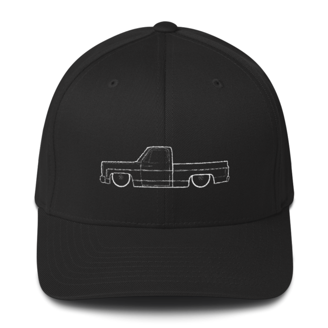 FlexFit C10 Squarebody Hat 73-87 Structured Twill Cap Chevrolet Chevy