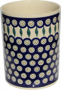 Polish Pottery Utensil Jar from Zaklady Ceramiczne Boleslawiec GU832/56