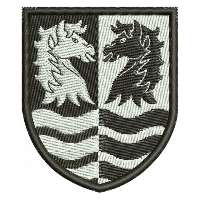 Dänemark, Faxe Kommune, Denmark, Provinz, Wappen, Aufnäher, Region, Patch