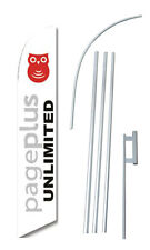 Pageplus Unlimmited Flag Banner Windless Swooper 15 Ft Kit