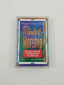 Winds of Worship Volume 3 Live From Toronto Canada Cassette 1994 Vineyard Music