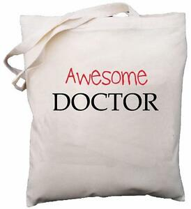 Awesome-Doctor-Natural-Cotton-Shoulder-Bag-School-Gift