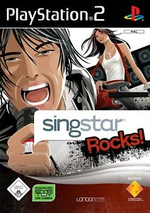 Ps2-Sony-PlayStation-2-juego-SingStar-Rocks-con-embalaje-original