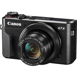 Canon PowerShot G7X Mark II Digital Camera BRAND NEW 13803269321