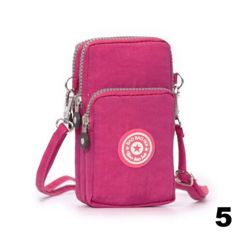 Newest Cross-body Mobile Phone Shoulder Bag Pouch Case Belt Handbag Purse Wallet