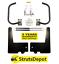Murphy-Wall-Bed-Mechanism-Hardware-Kit-amp-LEGS-King-Size-Horizontal thumbnail 1