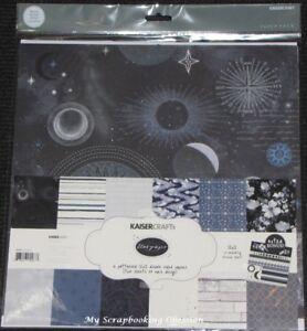 "Kaisercraft /'MEMORY LANE/' 12x12/"" Paper Pk Stickers Flowers//Floral KAISER 05//18"