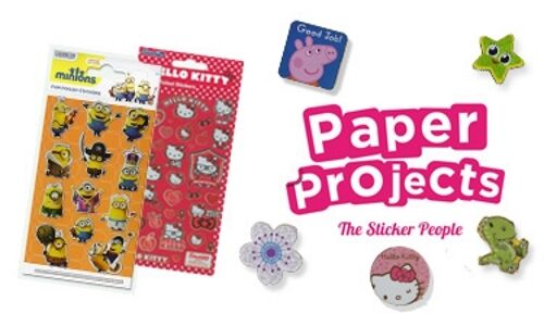 Paper Projects BALLET DANCERS Sparkle re-usable Foil Craft Stickers Age 3