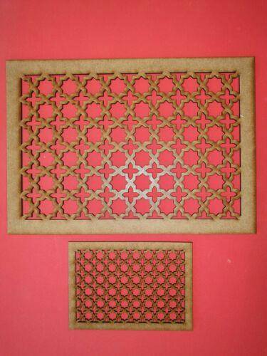 Décoration Panneau Motif Screening Grille MDF Stencil Embellissement islamique