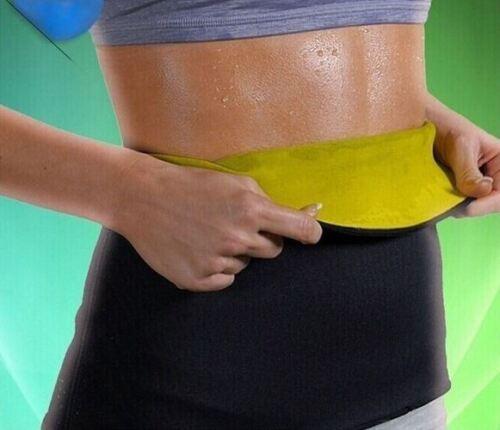 Sauna Slimming Belt Waist Wrap Shaper Burn Fat Calorie Belly Lose Weight Hot