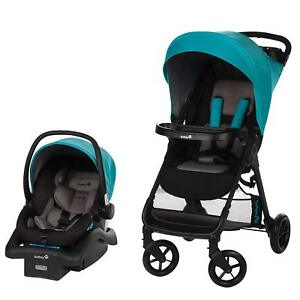 Baby Car Seat And Stroller Boy Infant Kid Travel System ...