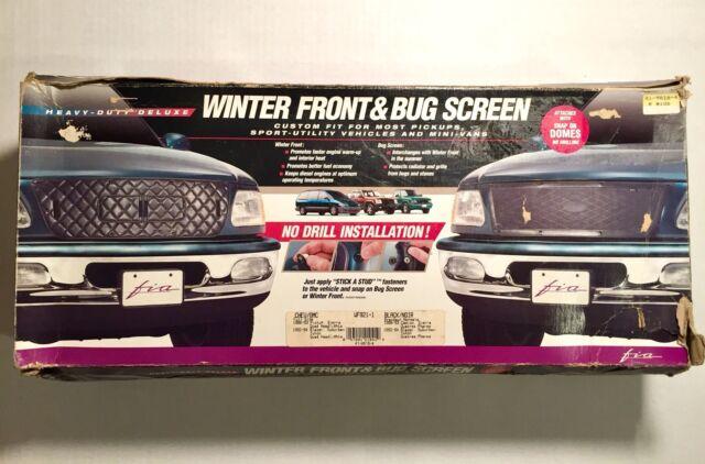 Fia WF921-8 Custom Fit Winter Front//Bug Screen