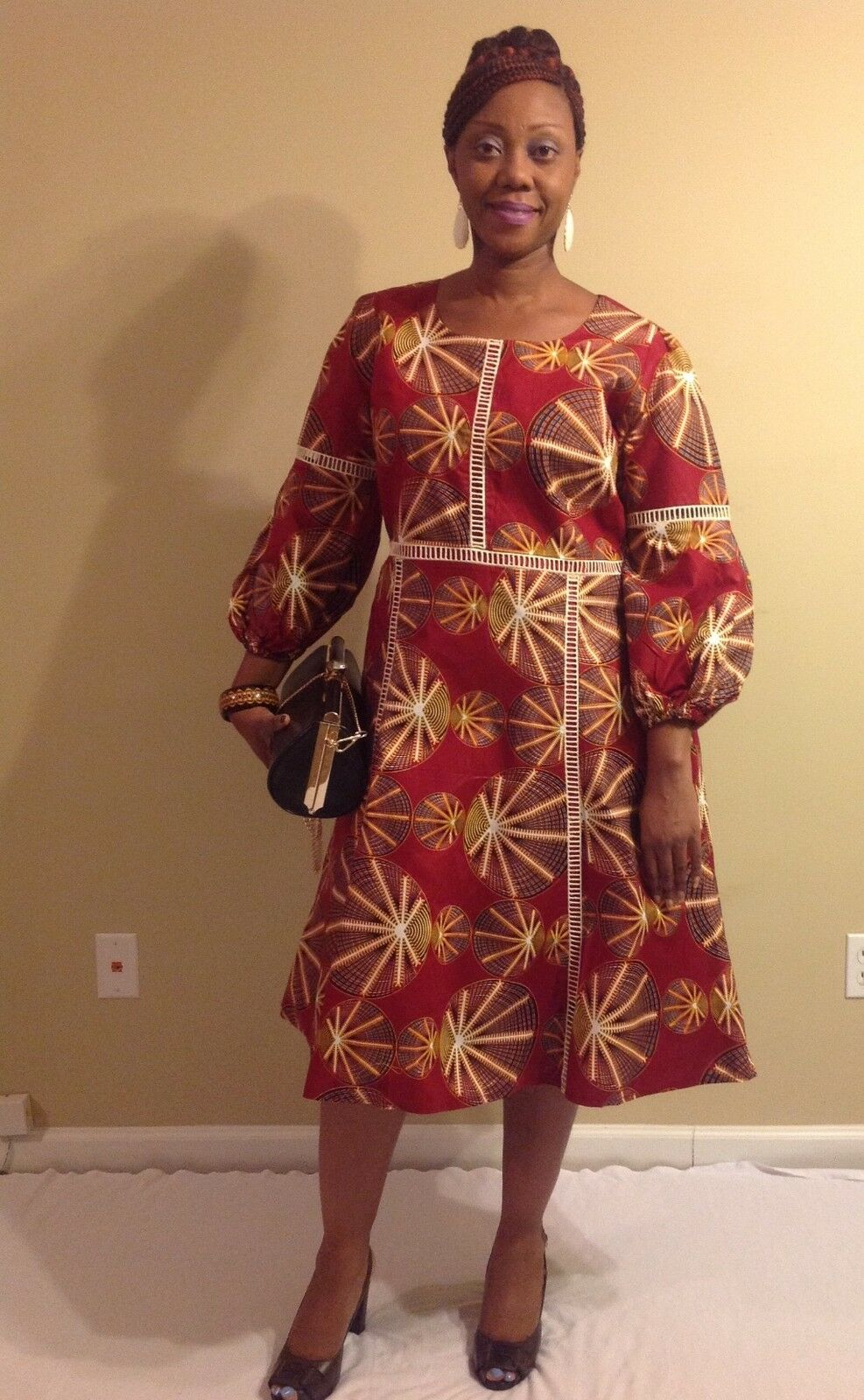 African woman dress size M,L