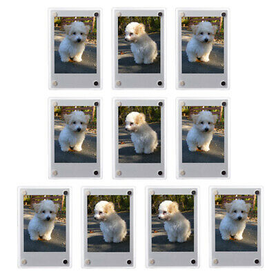 Magnetic Photo Booth Frame fit 2x6 picture Magnet frame 500 pack magnetic frame