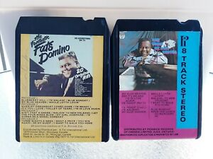 Pair-Of-Fats-Domino-8-Track-Tapes