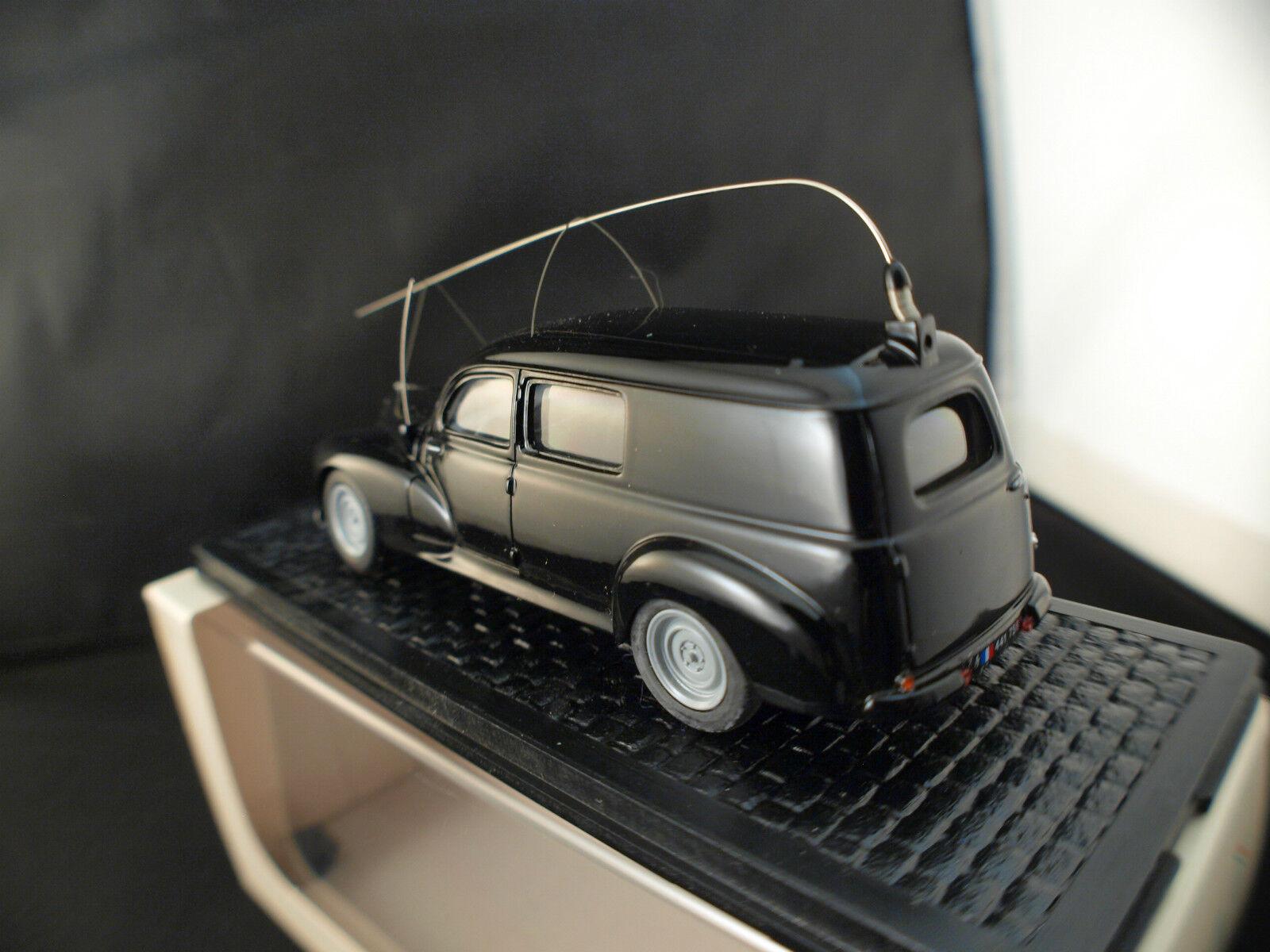 Aquavit n° 01.1006.N1 Peugeot 203 Break Gendarmerie 1/43 neuf neuf neuf boîte / boxed MIB 90a450