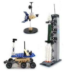 Space-Mars-Vehicle-amp-Rocket-Custom-Lego-Set