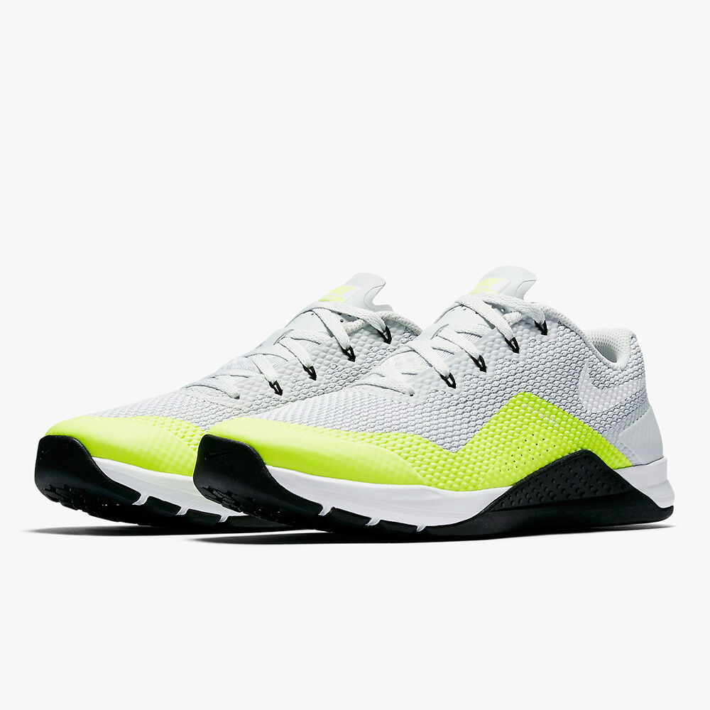 Nike hommes Metcon Repper DSX Crossfit Training blanc/Volt 898048-001 Sz 10 13