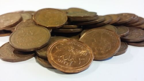 FULL ROLL 1985 CANADA ONE CENT PENNIES CIRCULATED