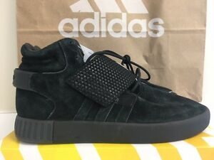 pretty nice 00a0d 13553 Image is loading NEW-Adidas-TUBULAR-Invader-Strap-Shoes-BB1169-TRIPLE-