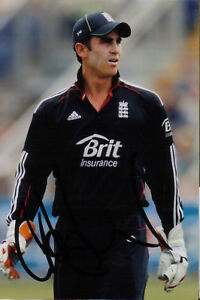 ENGLAND CRAIG KIESWETTER SIGNED 6x4 ODI ACTION PHOTO -  SHROPSHIRE, United Kingdom - ENGLAND CRAIG KIESWETTER SIGNED 6x4 ODI ACTION PHOTO -  SHROPSHIRE, United Kingdom