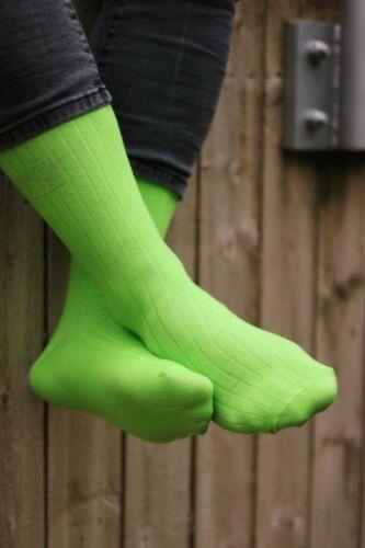 Da Uomo Calzini Di Cotone Verde
