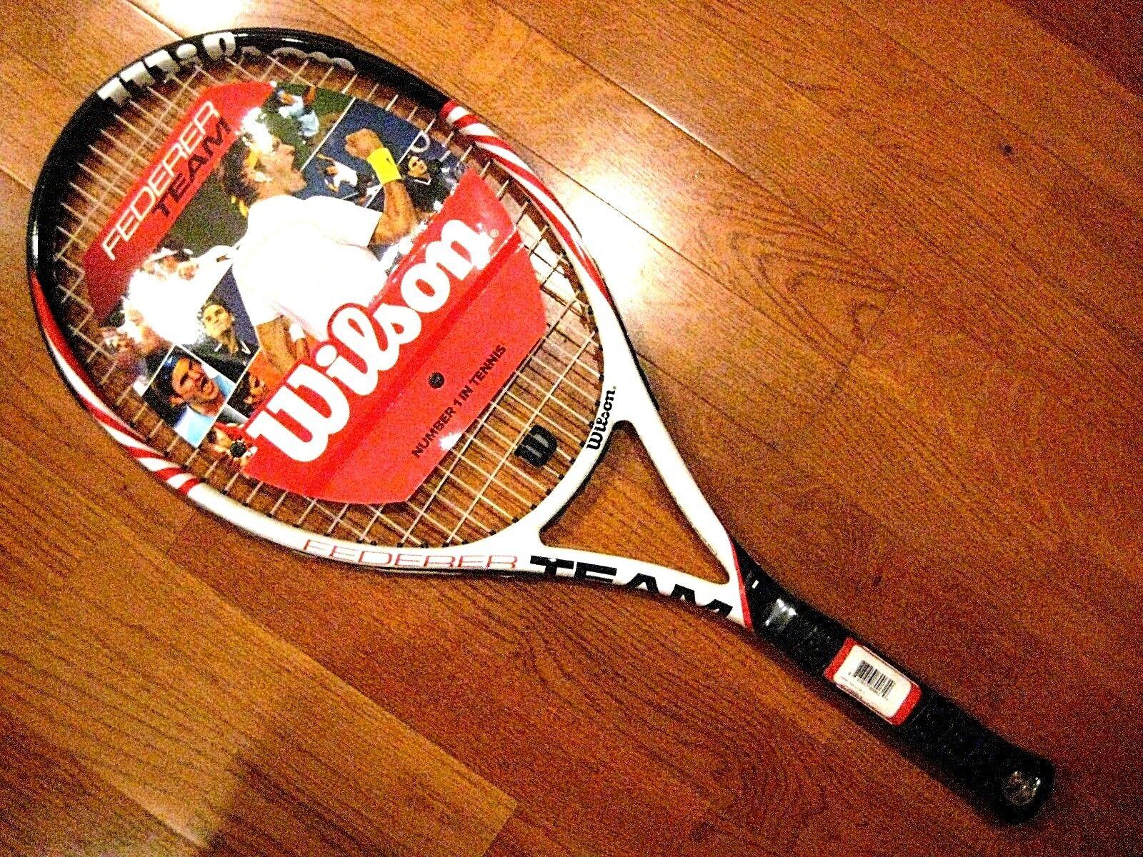 Wilson Federer Team Tennis Racquet - Brand New  - Strung