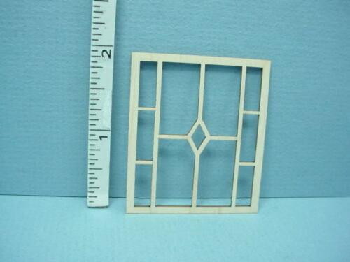 Dollhouse Miniature Decorative Window Mullion #DW  Laser Creations 1//12th Scale