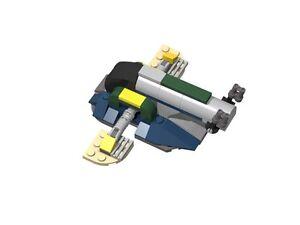 Lego Moc Custom Star Wars Mini Slave I Clone Wars Jango Fett